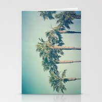 palms Stationery Cards featuring Palms by Laura Ruth