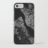 liverpool iPhone & iPod Cases featuring Liverpool by Line Line Lines