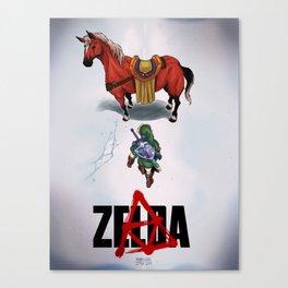 Zelda/Akira Canvas Print