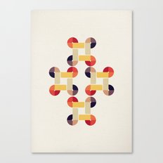 'round and 'round  Canvas Print