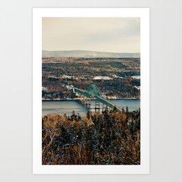 Seal Island Bridge Art Print
