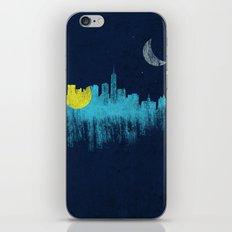 city that never sleeps iPhone Skin