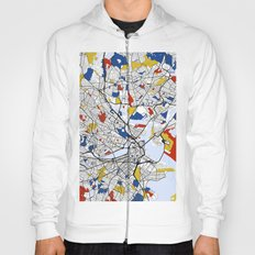 Boston Mondrian map Hoody
