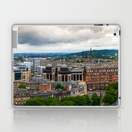 Panoramic of Edinburgh Laptop & iPad Skin