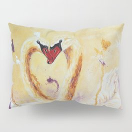 A Little Kiss | Un petit bec Pillow Sham