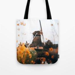 Noordermolen mill Groningen The Netherlands Tote Bag