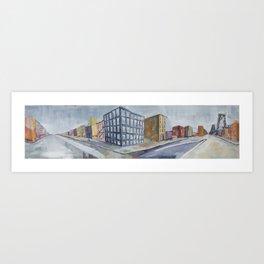 Urban Panorama II Art Print