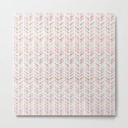 Arrows 2: Multi-color Metal Print