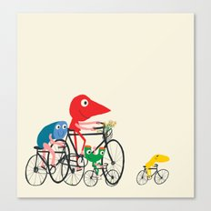 Bike is Life Canvas Print