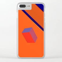 Evening in Suburbia Clear iPhone Case