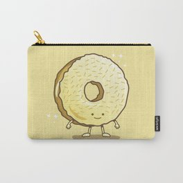 The Golden Donut Carry-All Pouch