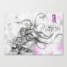Construct Canvas Print