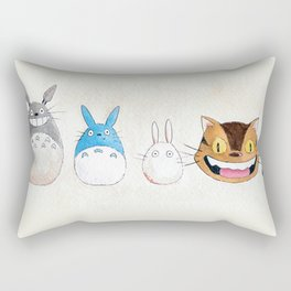 Make the Unlikeliest of Friends, Wherever You Go Rectangular Pillow
