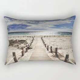 """Cabo de Gata"". Retro serie Rectangular Pillow"