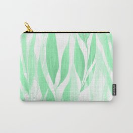 Watercolour Leaves Carry-All Pouch