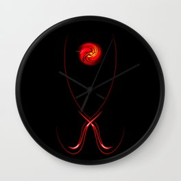 Magical Light and Energy Wall Clock