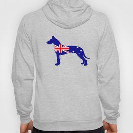 Australian Flag - Great Dane Hoody