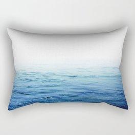 Calm Blue Ocean Rectangular Pillow