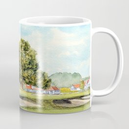 Sunningdale Golf Course 18th Green Coffee Mug