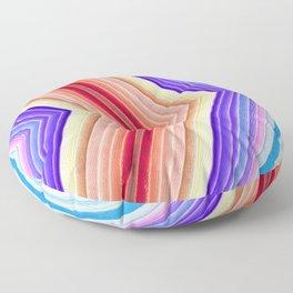 Soft Rainbow Floor Pillow
