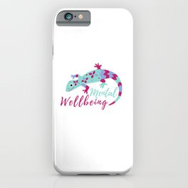 Mental Wellbeing Animal iPhone Case