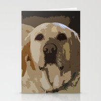 lab Stationery Cards featuring Lab Love by Courtney Decker