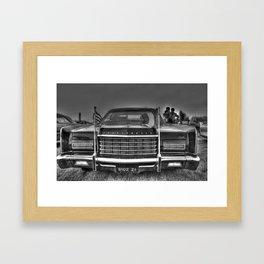 Continental Framed Art Print