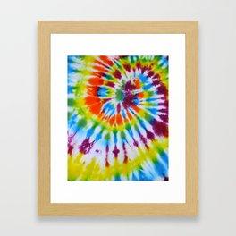Tie Dye 008 Framed Art Print