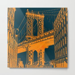 Brooklyn, NYC Metal Print