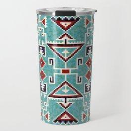 Native American Navajo pattern Travel Mug