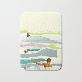 Sun and Surf Bath Mat