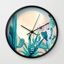 Desert Dawn Wall Clock
