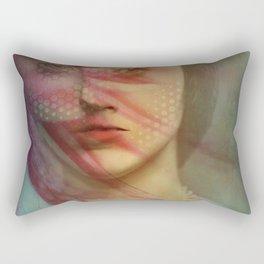 Last century woman Rectangular Pillow