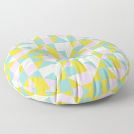 triangular geometric shape Floor Pillow