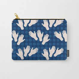 Waving Hands Carry-All Pouch