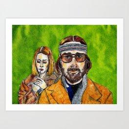 Richie & Margot Art Print