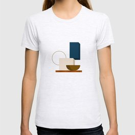 Abstrato 01 // Abstract Geometry Minimalist Illustration T-shirt