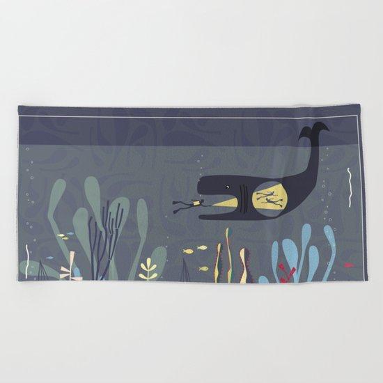 The Fishtank Beach Towel