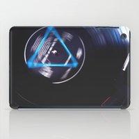floyd iPad Cases featuring Floyd Spinning by Jasmine Marie