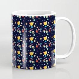 Gems in space galaxy star jewels print colorful gemstone stars pattern Coffee Mug
