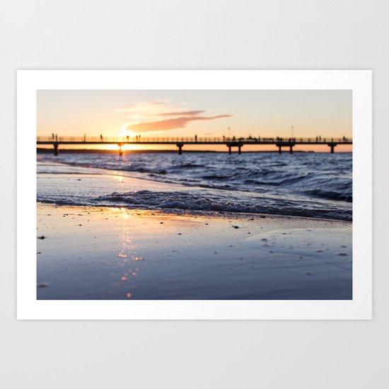 Cali Summer Art Print