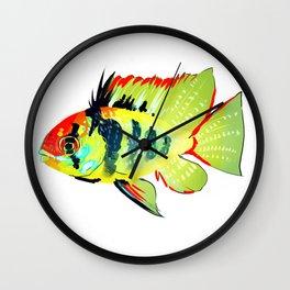 Ram Cichlid Wall Clock