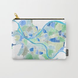 Pittsburgh Neighborhood Map Carry-All Pouch