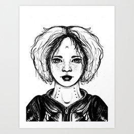 Inktober 2018 - 1 Art Print
