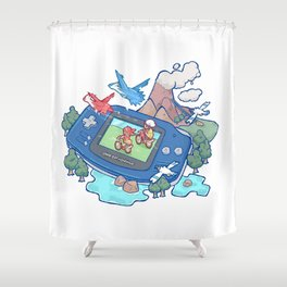 Pocket Monster V3 - The Legend Lives Shower Curtain