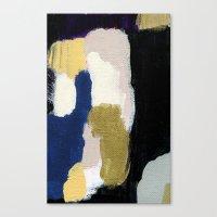 neil gaiman Canvas Prints featuring Neil by Patricia Vargas