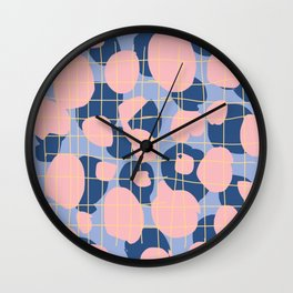 pink and perry Wall Clock