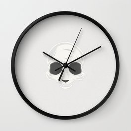 PANDA SKULL Wall Clock