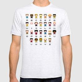 Pixel Star Trek Alphabet T-shirt