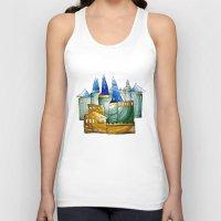 castle Tank Tops featuring Castle by Irina  Mushkar'ova